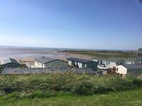 Luxury holiday park static caravan 12 month park sea view beach Morecambe north west Lancashire