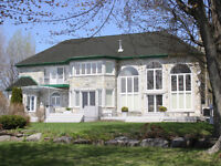 St Lawrence Waterfront Executive Home on 1.83 acres