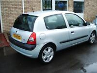 2004 Renault Clio 1.2 16v Dynamique 3d **PX TO CLEAR**