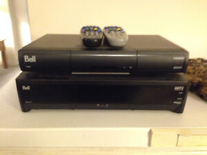 Bell ExpressVu 9241 and 9400 HD PVR units