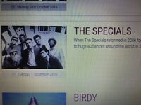 Ticket for The Specials at THE BARBICAN YORK