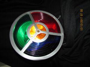 Mid Century Aluminum Christmas Tree Colour Wheel