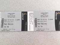 Level 42 tickets Bristol Colston Hall Weds 19/10/16