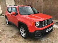 Jeep Renegade Longitude 1.4 6 Speed Start Stop, 1 Registerd Keeper, Immaculate, Manfacture Warranty