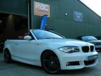 2009 BMW 1 SERIES 125I M SPORT CONVERTIBLE PETROL