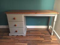 Solid Pine children's desk / dressing table
