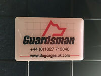 Dog guard with boot divider for Ford Mondeo