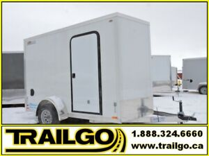 2019 Remorque fermée 6X11  Aluminium / Enclosed Aluminum Trailer