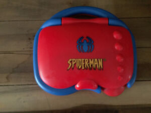 Spiderman Minigame Laptop