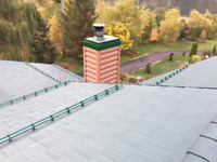 Roof Snow Retention Systems, Metal Roof Repair