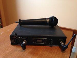 Sony Wireless Microphone