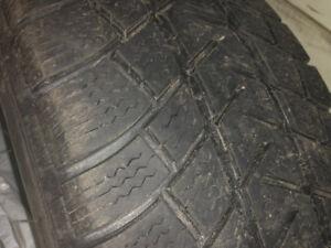 Michelin Latitude X-ICE, 225 55R18. 4 tires. $110. 00
