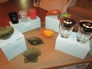 Partylite votive/tealight holder sets, all brand new in box!
