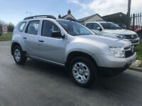 DACIA DUSTER 1.5 DCI 4X4 AMBIANCE 4WD 1 OWNER 45000 MILES FSH £140 a year tax