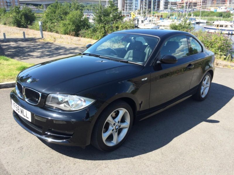 2008 bmw 120d se coupe diesel in penarth vale of. Black Bedroom Furniture Sets. Home Design Ideas