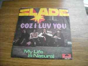 SLADE---RARE 1971 GERMAN RELEASE--
