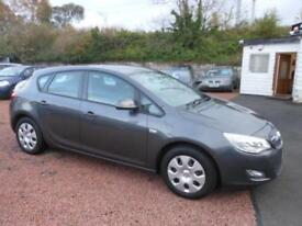 2010 10 VAUXHALL ASTRA 1.6 EXCLUSIV 5D 113 BHP