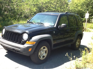 TRADE.  2007 Jeep Liberty Trial Rated SUV, Crossover