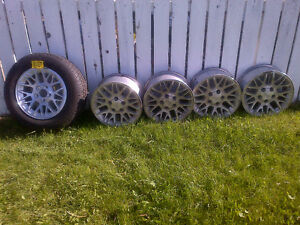 2004 Jeep Cherokee stock aluminum rims