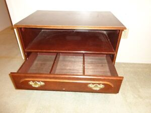 2 end tables ,coffee table ,caddy with wheels/handle,tv stand .
