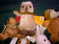 Brand New Stuffies - tags still on