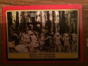 1983 o-pee-chee star wars trading cards