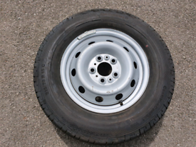 215/70/R15 c Continental van tyre and wheel brand new