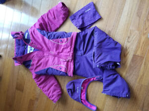 Girl's snowsuit