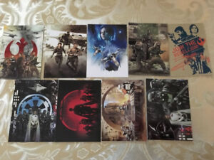 2016 Topps Star Wars Rogue One Series 1 Montage Set of 9 Cards
