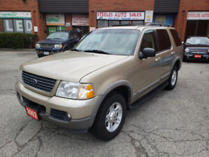 ***2002 FORD EXPLORER XLT LEATHER SUNROOF 4X4 ***