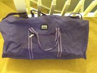 Borderline large purple bag