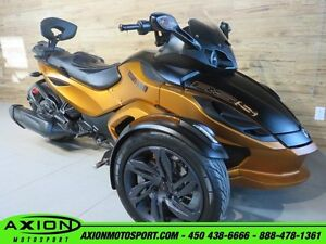 2013 Can-Am Spyder RS-S SM5 59.34$/SEMAINE