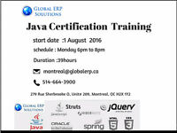 Java Training & Placements in Montreal