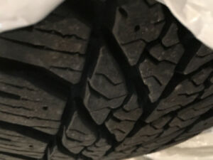 4 Goodyear Winter Tires on Rims For Sale $375 OBO