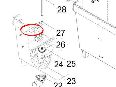 Distanzstück BioTec 36 Oase Original Ersatzteil 25996