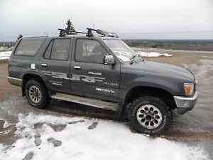 For sale by public auction-1989 Toyota 4x4