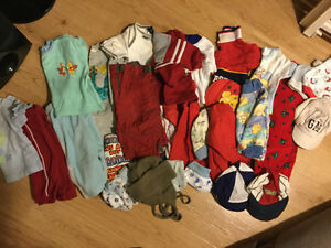 Baby boy size 3-9 month lot