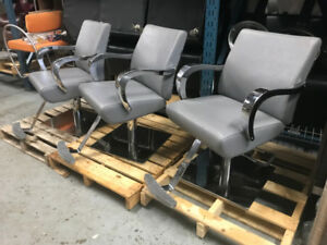 Grey Styling Chairs CLEARANCE