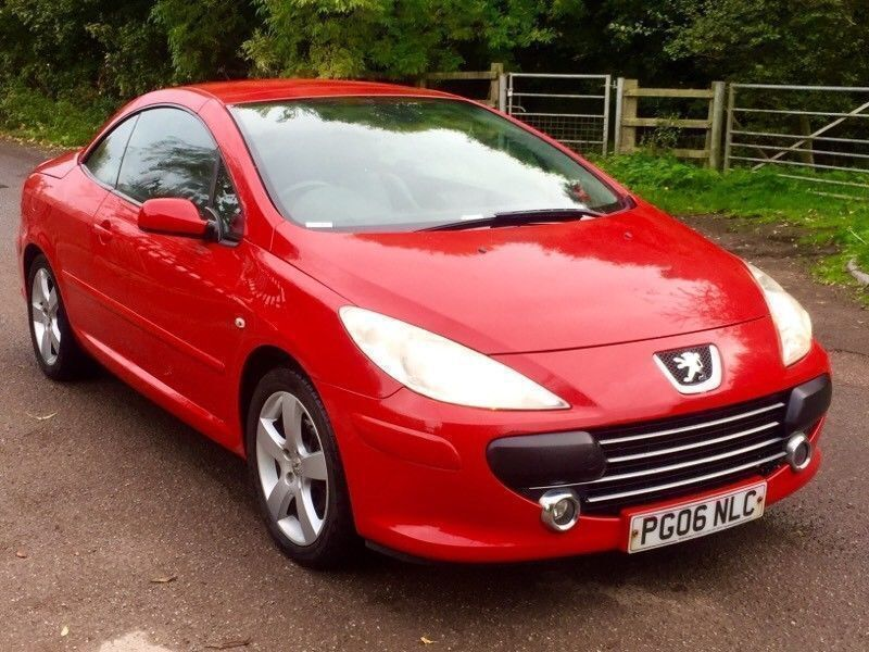 Peugeot 307cc convertible fully loaded leather +satnav+auto