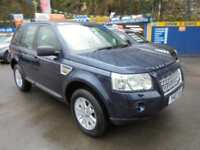 2007 07 LAND ROVER FREELANDER 2 TD4 2.2 SE 4X4 IN BLUE # SAT NAV TWIN ROOF