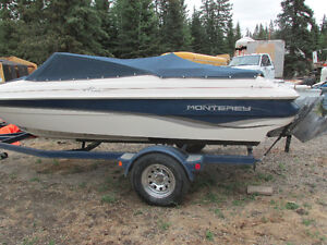1999 Monterey M series180 open bow boat,