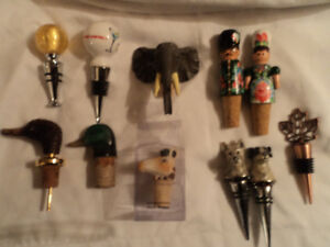 Collection of Bottle Stoppers