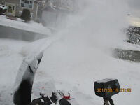GET DRIVEWAY DONE WITH SNOWBLOWER !!!