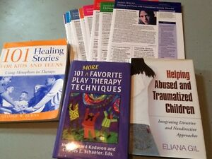Counselling/play therapy books Cambridge Kitchener Area image 8