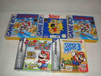 Game Boy & Advance Jeux (Cib) Mario +++