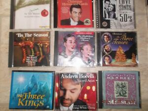 Box of Older cd's for sale