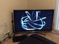 "Samsung 40""3D tv and Samsung smart 3D blu Ray player"