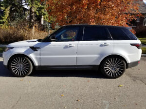 2014 Land Rover Range Rover Sport Supercharged SUV, Crossover