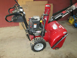 "Dual Stage 9.5 HP 27"" Craftsman Electric Start Snowblower"