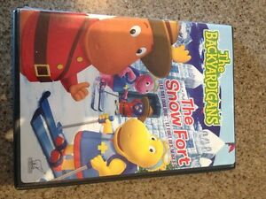 Backyardigans The Snow Fort DVD